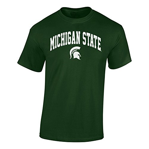 Michigan State Spartans Tshirt Green - 2XL - Forest Green
