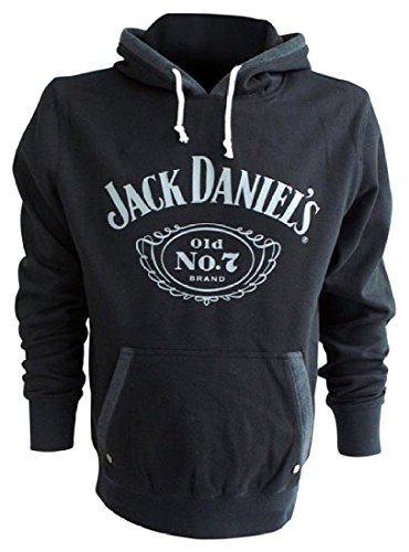 Jack Daniel's Classic Old No. 7 Hoodie Black Large