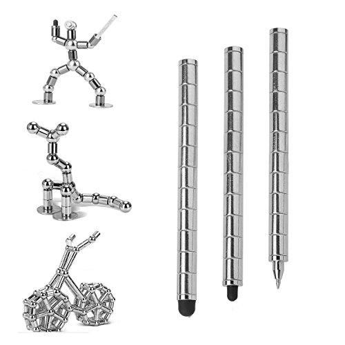 magnetic modular silver pen - 3