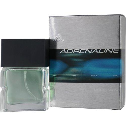 (Adidas Adrenaline Eau De Toilette Spray for Men, 0.5)