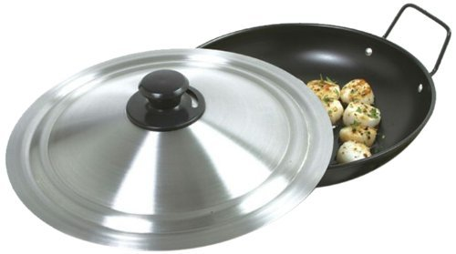 12 1/2 Inch Universal Lid Stainless Steel Vented