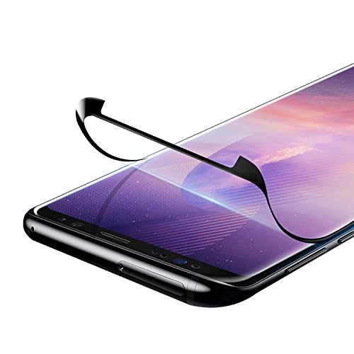 VIUME Galaxy Note 8 Screen Protector, 3D Full Coverage [Case-Friendly] Screen Protector for Samsung Galaxy Note 8 Soft Film (Black)