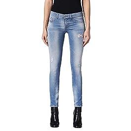 Diesel Livier-S 084QI Women's Jeans Pants Slim Jeggins