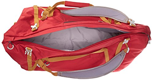 Pacsafe DuffelSafe AT80Diebstahlschutz Duffel Bag, Chili/Khaki (rot) - 22110