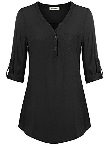 Womens 3/4 Length Sleeve T-shirt - 9
