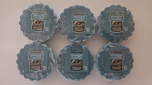 Yankee Candle Warm Luxe Cashmere Tarts Wax Melt, Fresh Scent