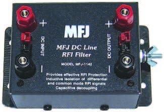 MFJ-1142 DC Line RFI Filter Outlet