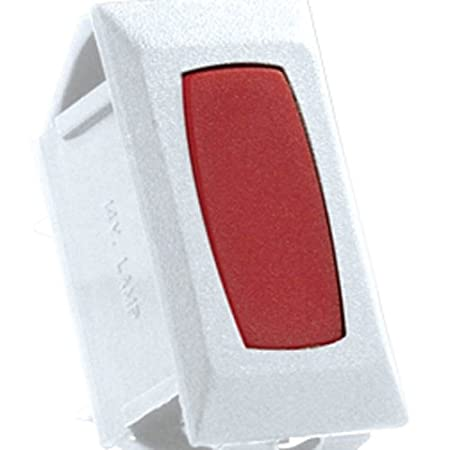 JR Products 12725 Red//Black Indicator Light for Switch