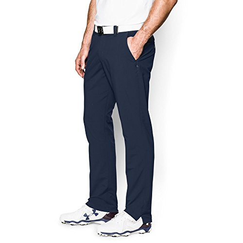 Under Armour Men's Match Play Golf Tapered Pants, Academy /Academy, 36/32 (Nike Golf Pants Slim Fit)