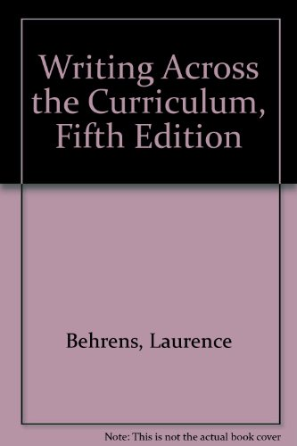 Writing And Reading Across The Curriculum 5th Edition Pdf