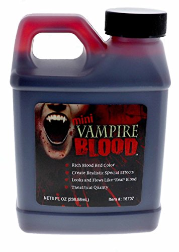 Vampire Blood, Theatrical Quality Fake Blood, 8 Ounce ()