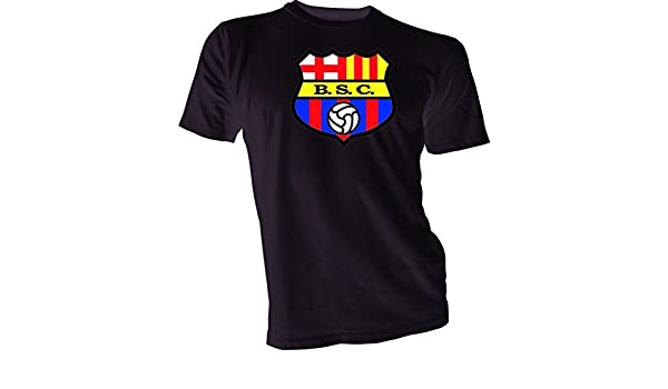 Amazon.com : BARCELONA SPORTING CLUB Guayaquil Ecuador Futbol Soccer T-SHIRT Camiseta NEW : Sports & Outdoors