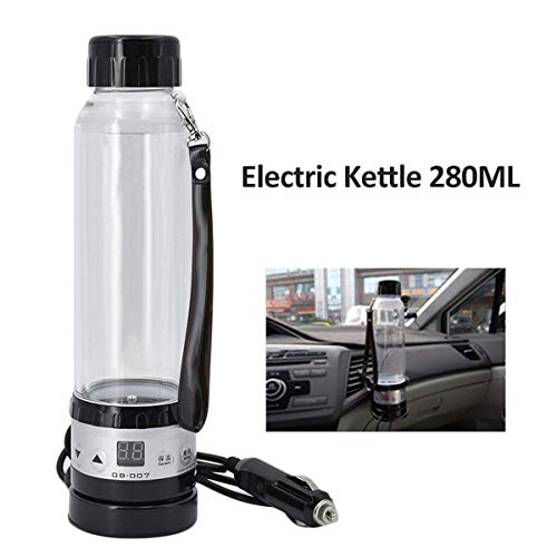 HSC Car Load Electric Kettle Winter Truck Thermos Smart Travel Furnace Temple 280ML Capacity, Fast Cooking hot - Truck Driver Cooking