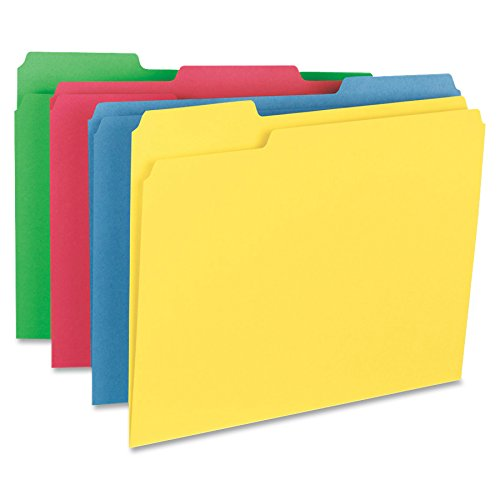 - Business Source 1/3-cut Tab Heavy Weight Color File Folders (16517), (Pack of 50)