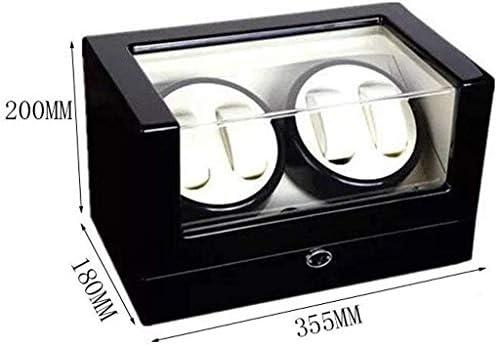 ギフトウォッチワインダーウォッチワインダーボックス4 + 0回転電気メンズ腕時計自動機械式時計ワインダーウォッチワインダー(カラー:B)、色名:B (Color : B)