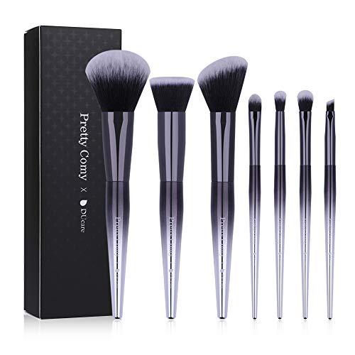 7pcs Makeup Brush Set, Foundation Concealer Brush Blending Face Powder Blush Eye Shadows Make Up Brushes Kit ()