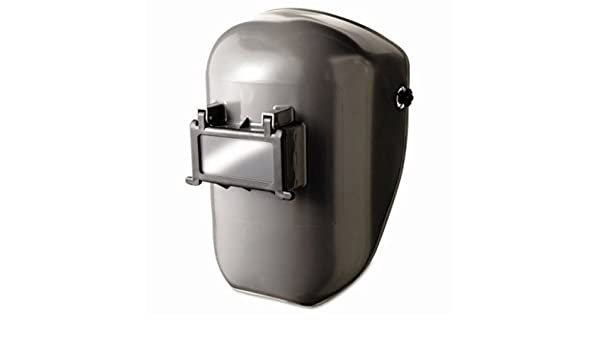 #10 Gray 2 x 4 1//4 2 x 4 1//4 Fibre-Metal 280-4906GY Protective Cap Welding Helmet Shells