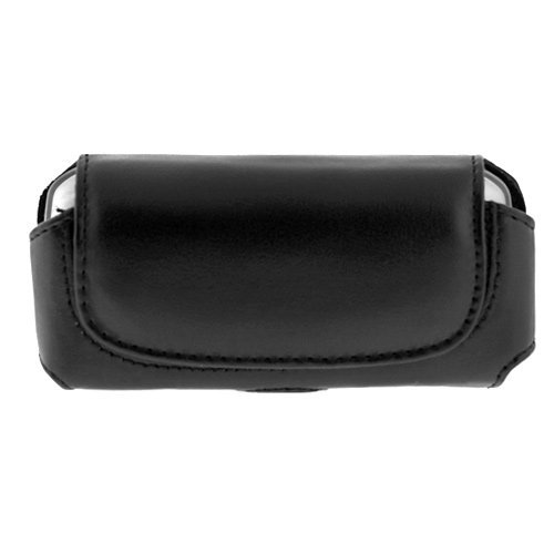 Sidekick Slide Holster - Black Holster Pouch for Palm Treo, HTC G1 Google, HTC Tilt 8925 Motorola Sidekick Slide Case