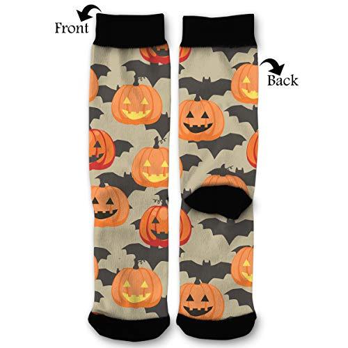 Packsjap Halloween Pumpkins and Bats Men & Women