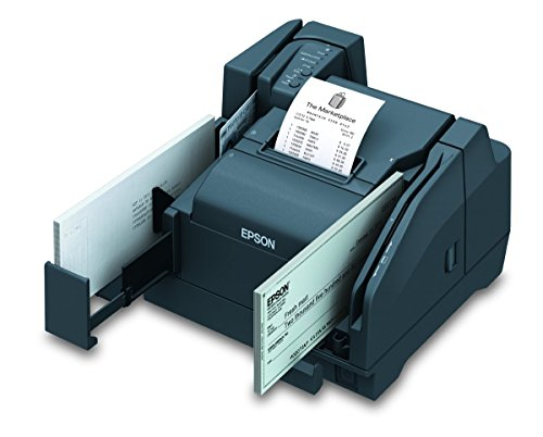 Epson A41A267021 Multifunction Scanner and Printer TM-S9000, USB, 110 DPM, Dark Gray