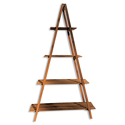 A-Frame Folding Rack, Sedona Spa Hotel Style, Shelf, Bookcase, Plant ...