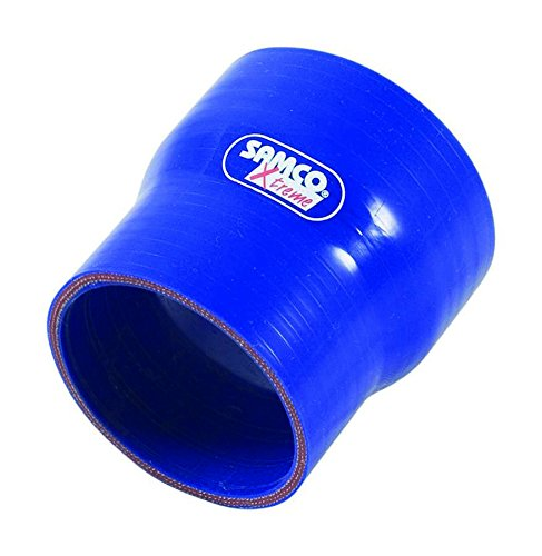 Coolant Sport Samco (Samco Sport Blue Silicone 3-1/2 in to 2-1/2 in Coupler P/N XSR89-63BLUE)