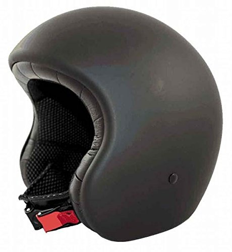 Amazon.es: Casco Moto LEM - Jettone, NEGRO MATE (S)