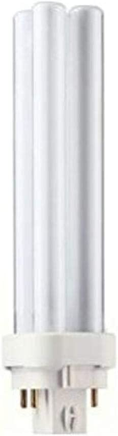Philips Alto PL-C Energy Saver Compact Fluorescent Light Bulb: 1800-Lumen, 3500-Kelvin, 26-Watt, 4-Pin G24-3 Base, Cool White, 10-Pack