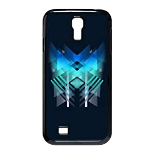 Samsung Galaxy S4 9500 Cell Phone Case Black Triangle blue HY2423183