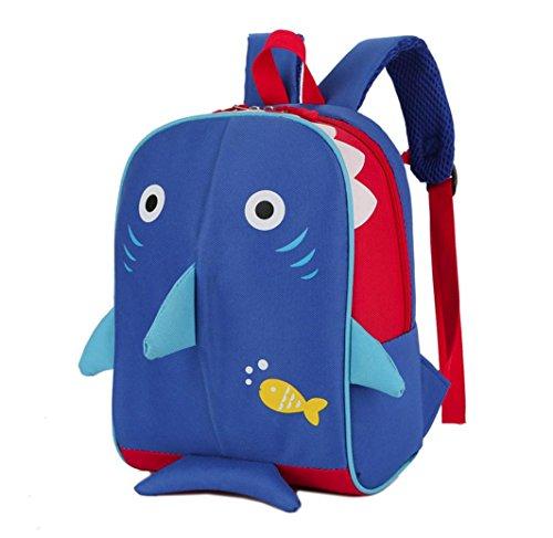 School Season! Koolee Kid Dog Shark Backpack Toddler Baby Gi