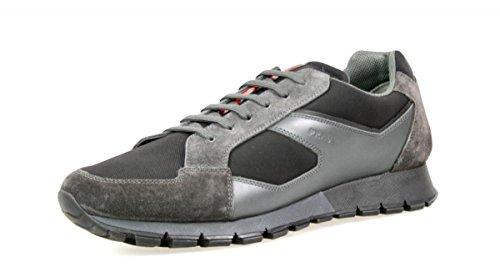 Sneaker In Pelle Prada Mens 4e2932 Zjm F0h79