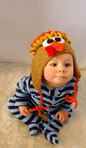 Turkey Hat Crochet Pattern