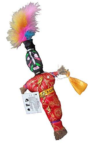 (Voodoo Doll Good Luck Power Red H-1 Money WEALTH PROSPER Revenge)