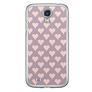 Loud Universe Samsung Galaxy S4 Love Valentine Printing Files A Valentine 106 Printed Transparent Edge Case - Purple/Pink