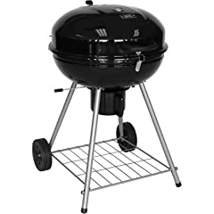 Be the hero of your next barbecue with the Expert Grill 22.5-Inch Kettle Charcoal Grill. With plenty of space and porcelain-coated cooking grids, the 22.5-inch grill is large enough to cook 21 burgers at once. The grill also features a slide ...