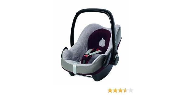 Bébé Confort Pebble - Funda de verano para la silla de coche Bebé Confort Pebble, color gris