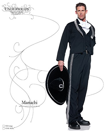 addf1154352 Amazon.com  Underwraps Men s Mariachi Musician Costume  Clothing