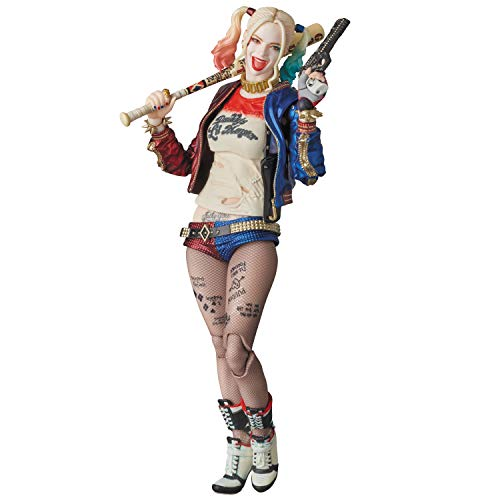 Medicom Suicide Squad: Harley Quinn MAF EX Action Figure (The Joker With Harley Quinn)