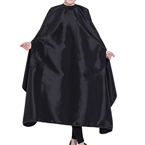 (OLizee Hair Cut Hairdressing Cape Cloth Apron Stretch Out Hand Waterproof Salon Barber Gown 57 x 63