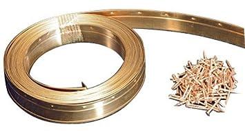 Jourjon Jean 050231 Joint m/étallique Bronze 6m Largeur 23 mm Marron