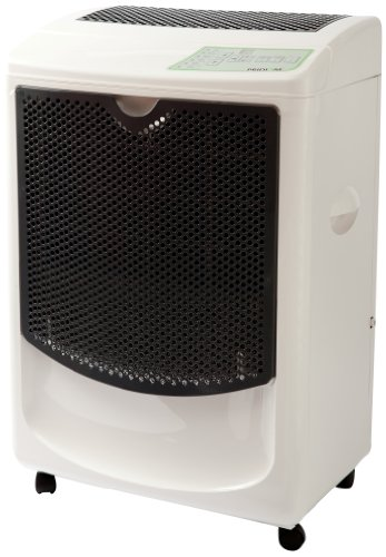"Pridiom PGD1080HCW Heavy Duty High Capacity Dehumidifier, 22.5"" Height x 19"" Length x 14"" Width, 120 pint,White"