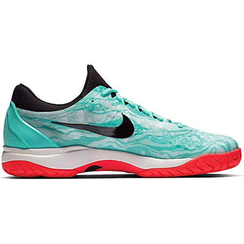 Nike Men's Zoom Cage 3 Tennis Shoes (12 D US, Aurora Green/Black/Teal Tint/Phantom)