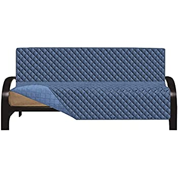 Amazon Com Easy Going Futon Sofa Slipcover Reversible