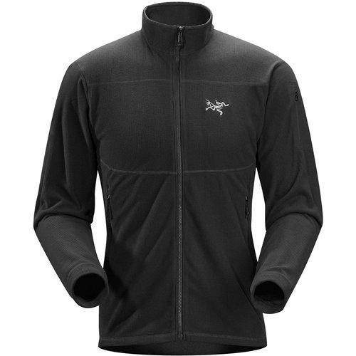 Jacket Arcteryx Fleece - ARC'TERYX Delta LT Jacket Men's (Black, Medium)