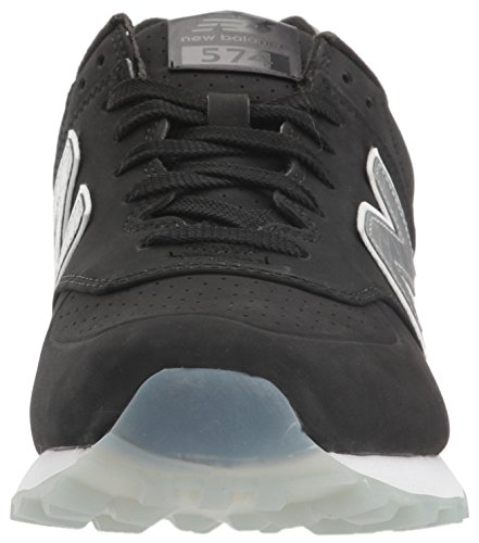 New Balance Mens 574 Classic Traditionnels Synthetic Trainers Black