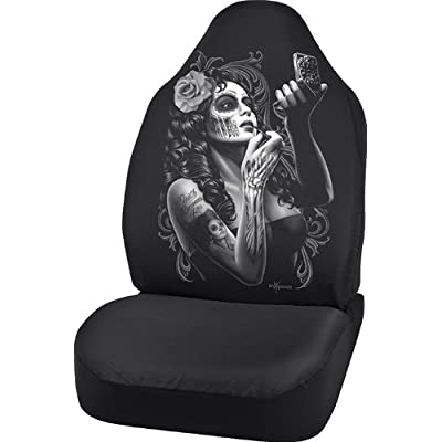 Bell Automotive 22-1-70274-9 David Gonzales Universal Bucket Seat Cover, Skin Deep Design: Automotive
