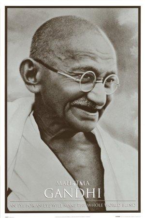 Mahatma Gandhi Poster Print, Print