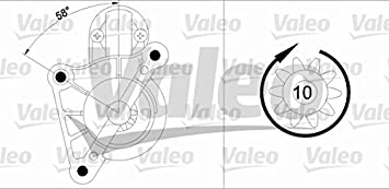 VALEO 458218-VAL Anlasser
