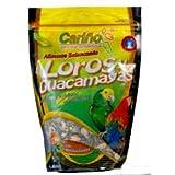Alimento Balanceado Loros y Guacamayas 750 gr Cariño Comida Pienso