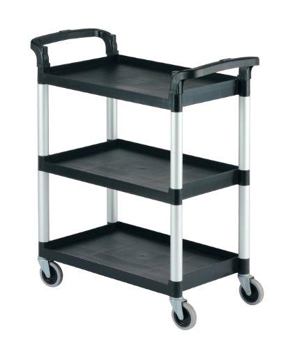 Cambro KD Service Cart Black